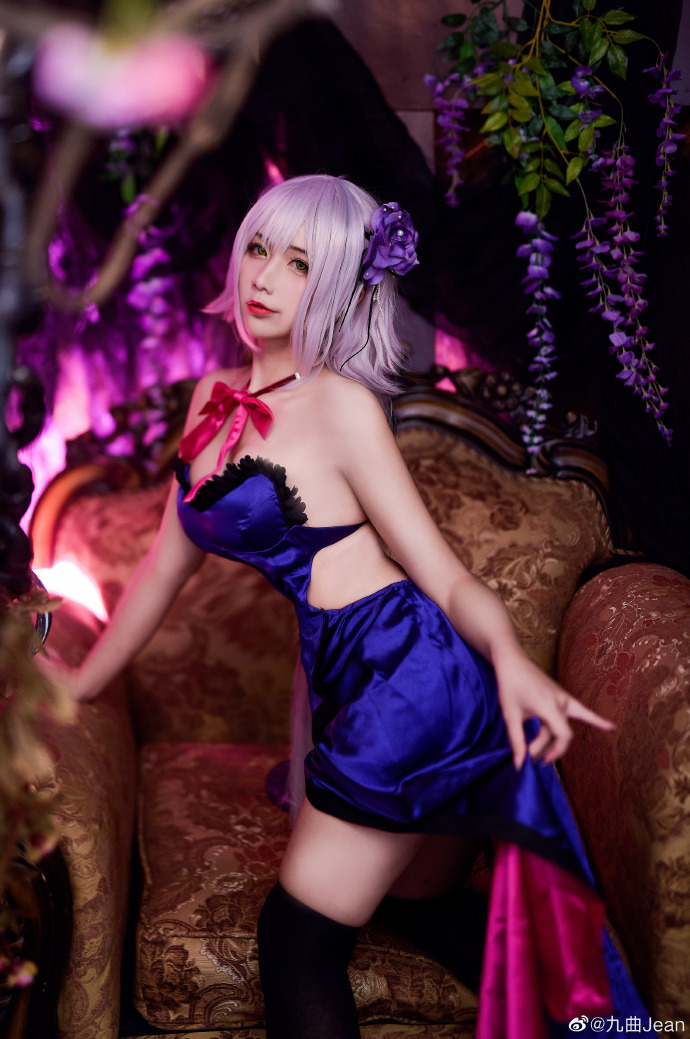 [cosplay图片]Fate/Grand Order 黑贞德cos coser@九曲jean cosplay图片
